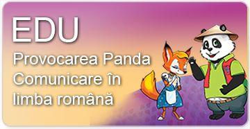 Educarea limbajului - Provocarea Panda