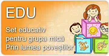 Setul educativ pentru grupa mică (3-4 ani)